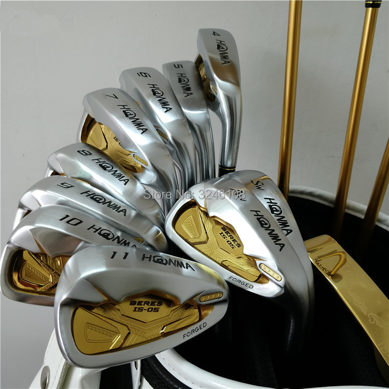Golf Clubs set HONMA S-05 4Star Golf Irons set 4-11.A.S Graphite Golf shaft and Clubs irons Free shipping simulation mini golf course display toy set with golf club ball flag
