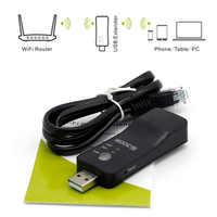 Pour Samsung LG Sony TV sans fil Wifi USB adaptateur carte réseau 300Mbps RJ-45 Wi-fi WPS répéteur AP Mode universel