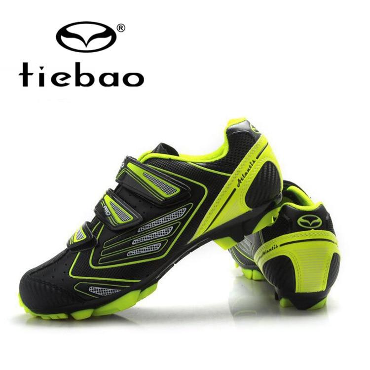 Tiebao MTB Cycling Shoes Men Self Locking Bicycle font b Bike b font Shoes Racing Athletic