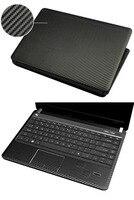 KH Laptop Carbon Fiber Leather Sticker Skin Cover Protector For HP Pavilion G6 2000 2212SA 2239dx