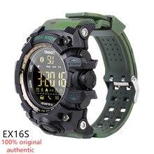 AMYNIKEER EX16S חכם שעון חדש ספורט Bluetooth חכם צמיד IP67 עמיד למים מד צעדים מעורר המתנה זמן ארוך בנד