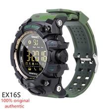 AMYNIKEER EX16S Smart Watch New Sports Bluetooth Smart Bracelet IP67 Waterproof Pedometer Stopwatch Alarm Standby Time Long Band