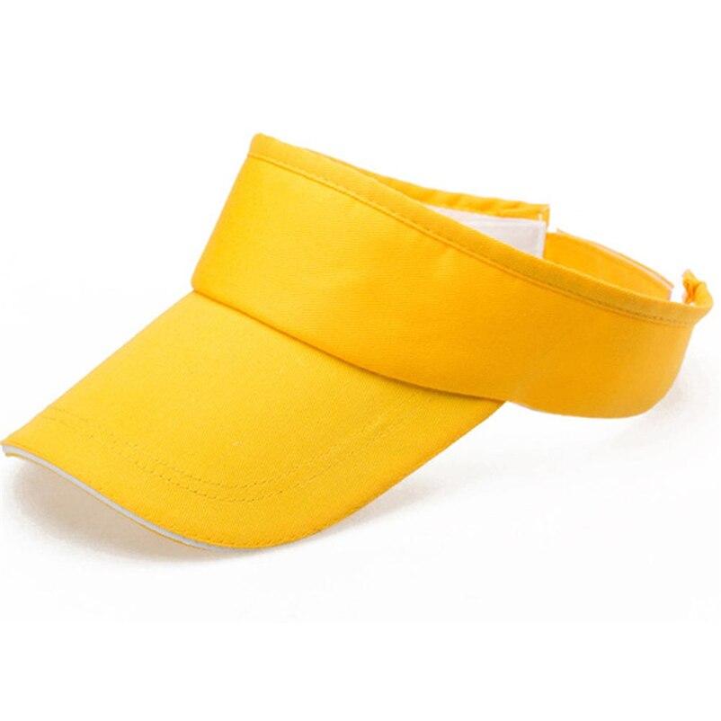 8d93ed8524f78 Summer 2018 cap black hat solid Visor sun hat female bone dad hats preto  hip hop Snapback visor baseball caps -in Sun Hats from Men s Clothing    Accessories ...