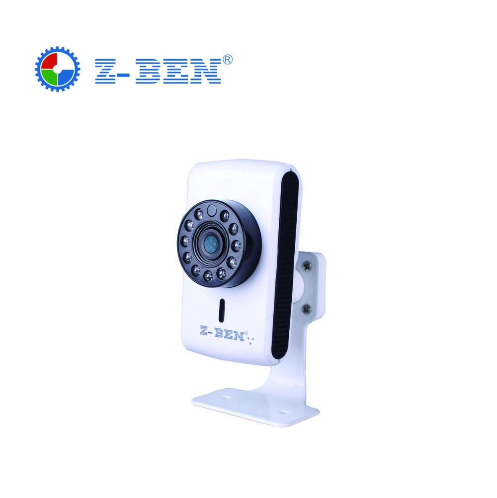 ФОТО ZBEN IPB01 Indoor Wireless IP Camera Wifi Night Vision Camera IP Network Camera CCTV WIFI P2P Onvif HD Wifi IP Camera Free Ship