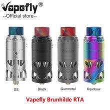 New Arrivals Vapefly Brunhilde Top Coiler RTA 8ml/2ml with Hollow Construction&Dual Coil E cigarette Vape Coiler Tank Pre-order