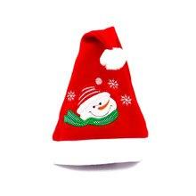 Santa Snowman Reno niños Navidad sombrero rojo Navidad regalos para niños  regalo de Año Nuevo( 007376d1d54