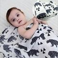 Sams Como Cama 100% Musselina Aden Anais Cobertor Do Bebê Swaddle Cobertores Do Bebê Recém-nascido de Algodão Multifuncional Cama Toalha 120x120 cm