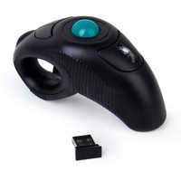 2.4G Wireless Air Mouse Trackball Portatile Del Mouse Per PPT Presentazione