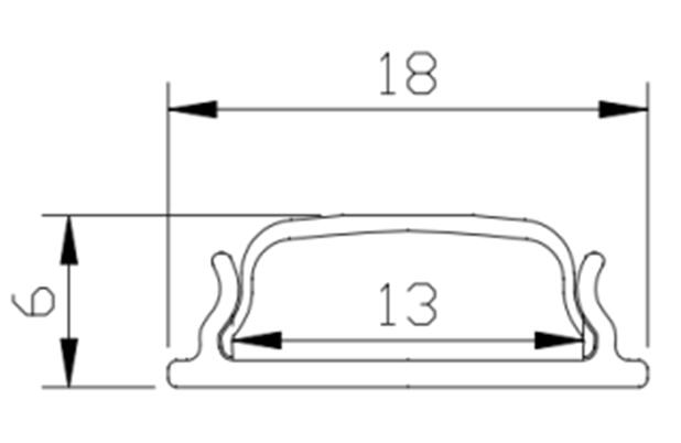 Image 4 - 1m/pcs Bendable Flexible LED Aluminum Curved Extrusion Profile for Flexible LED Strip flexible led profile-in LED Bar Lights from Lights & Lighting
