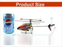 Free shipping HotSell Outdoor Flying Helicopter Wltoys V911 4CH Single Blade Mini RC Helicopter with 2.4G Transmitter helicopter