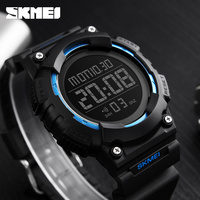 SKMEI Fashion Men Sport Watch LED Digital Wrist Watch Man Electronic 50M Waterproof Swimming Watches Male