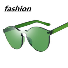 S7 Fashion Women Sunglasses Cat Eye Shades Luxury Brand Designer Sun glasses Integrated Eyewear Candy Color oculos de sol UV400