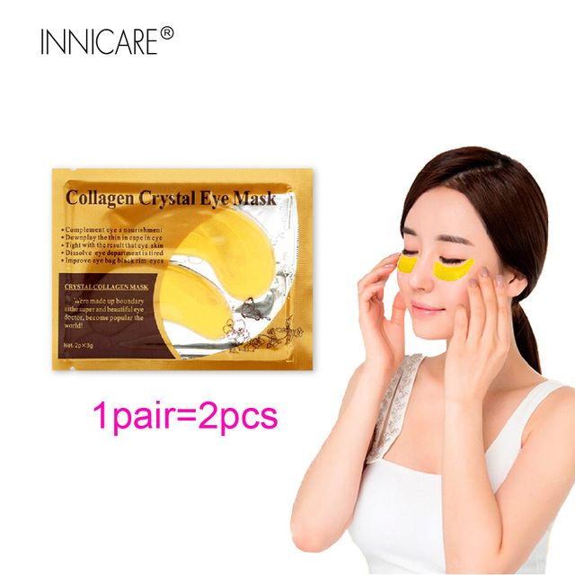 20Pcs=10Pairs Beauty 24K Gold Collagen Eye Mask Patches For Eye Dark Circle Anti-Aging Acne Korean Cosmetics Skin Care 1