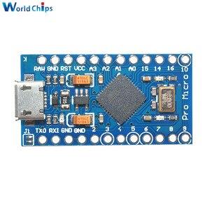 Image 2 - 5PCS USB ATmega32U4 פרו מיקרו 5V 16MHz מודול עבור Arduino ATMega 32U4 בקר פרו מיקרו להחליף פרו מיני עם סיכות
