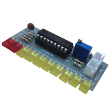 цены LM3915 Audio Level Indicator Diy Kit 10 Led Sound Audio Spectrum Analyzer Level Indicator Kit Electoronics Soldering