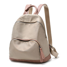 Купить с кэшбэком 2019 Fashion Women Backpacks Ladies Travel Bags Female Casual Backpacks Oxford Backpack Top-Handle Feminina Bolsas