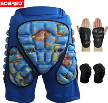 SOARED Winter Sports Men Women Kids Motocross Shorts Snowboard Body Racing Skiing Short Trousers Protection Pad