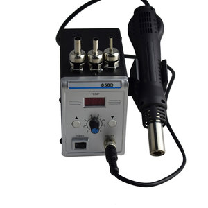Image 4 - עופרת משלוח Eruntop 858D הלחמה תחנת LED דיגיטלי הלחמה ברזל הסרת הלחמה תחנת BGA עיבוד חוזר הלחמה תחנת אוויר חם אקדח