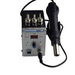 Image 4 - Estación de soldadura Eruntop 858D, sin plomo, Digital LED, desoldadura de hierro para soldar, BGA refundido, pistola de aire caliente