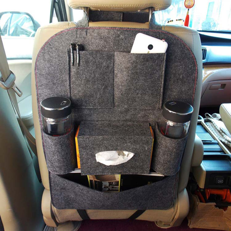 Auto Car Storage Bag Car Seat Multi Pocket Travel Storage Bag