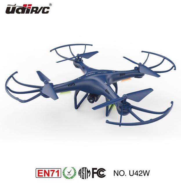 U42W RC 2.4G WiFi FPV drone con Mantenimiento de Altitud functionQuadcopter helicóptero 2.4 Ghz de 4 Canales 6 AXIS 360 grandes Acción de rodadura