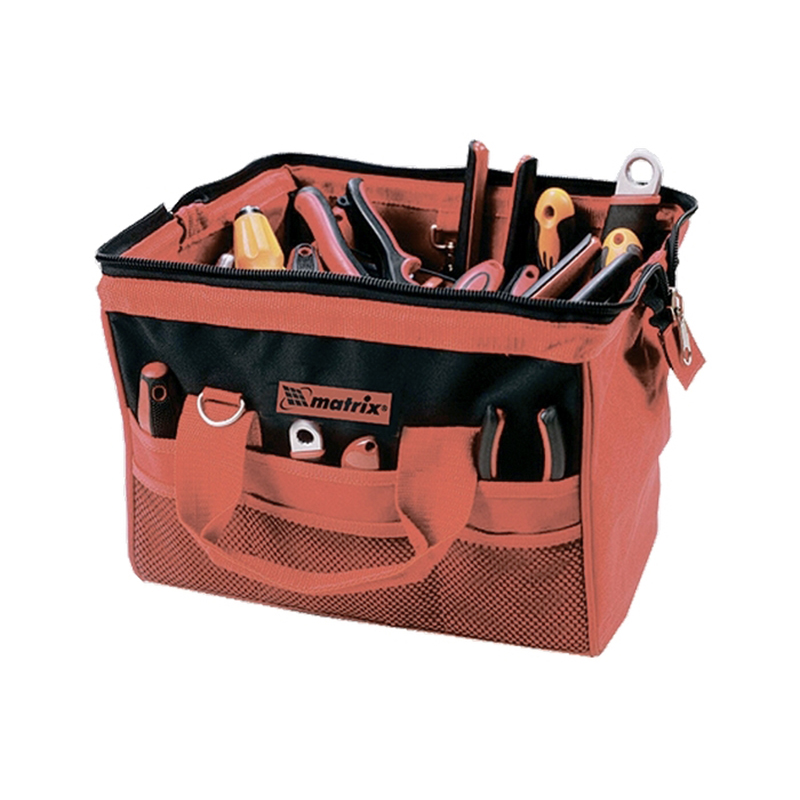 Tool Bag MATRIX 90252 (18 pockets, size 510*210*360, weight 1,27 kg) tool bag matrix 90259