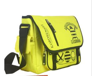 Anime Assassination Classroom Cosplay Anime bag shoulder bag Messenger bag male and female student college wind travel leisure anime assassination classroom cosplay fashion casual men and women travel bags birthday gift