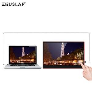 Image 4 - 15.6 polegadas tipo c hdmi 1080 p hdr tocando o monitor portátil da tela de samsung dex com função de carregamento do pd do thunderbolt