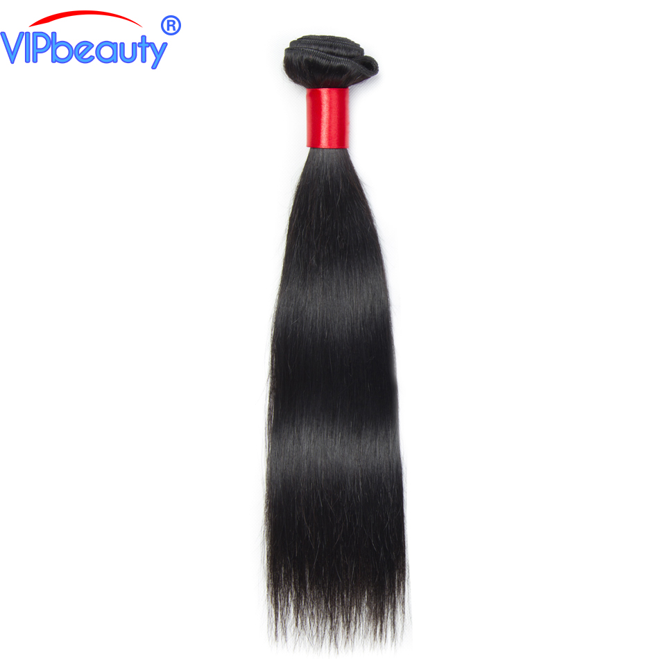 VIP beauty Peruvian straight remy hair extension ,100% human hair weave bundles 1pcs ,natural color 1b ,can be dyed double weft