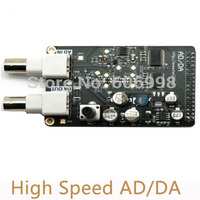 2pcs Lot High Speed AD DA Module Matching FPGA Black Gold Development Board