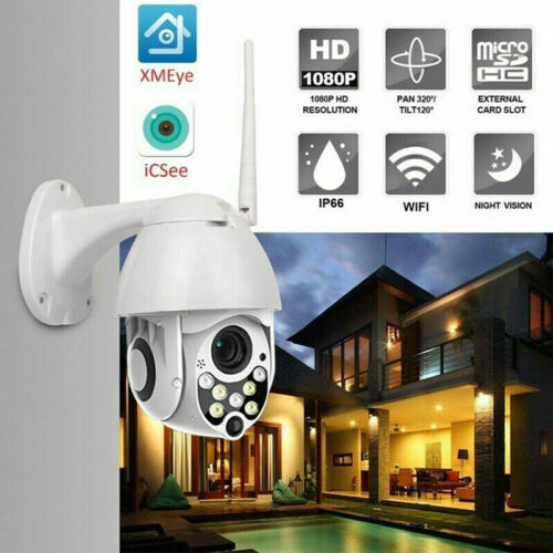 Wireless 5XOptical Outdoor CCTV PTZ HD 1080P WIFI IP Camera Dome Security IR CamWireless 5XOptical Outdoor CCTV PTZ HD 1080P WIFI IP Camera Dome Security IR Cam