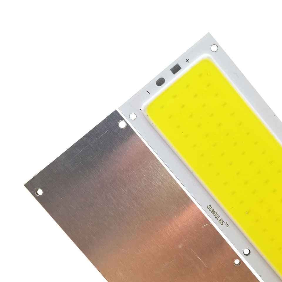 Lights & Lighting ... Lighting Bulbs & Tubes ... 32724443904 ... 5 ... SUMBULBS 10W LED Light COB Strip Bulb 12V LED Panel Lamp Warm Natural Cold White Blue Color 120x36mm Chip LED Lighting for DIY ...