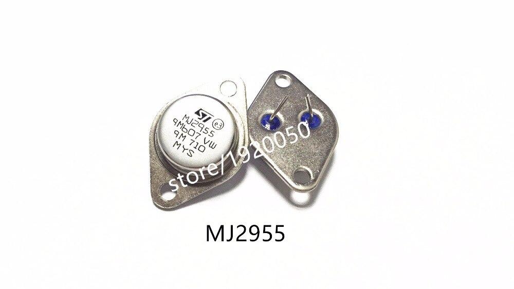 10PCS MJ2955 ST TRANS PNP 60V 15A TO-3 NEW GODD QUALITY