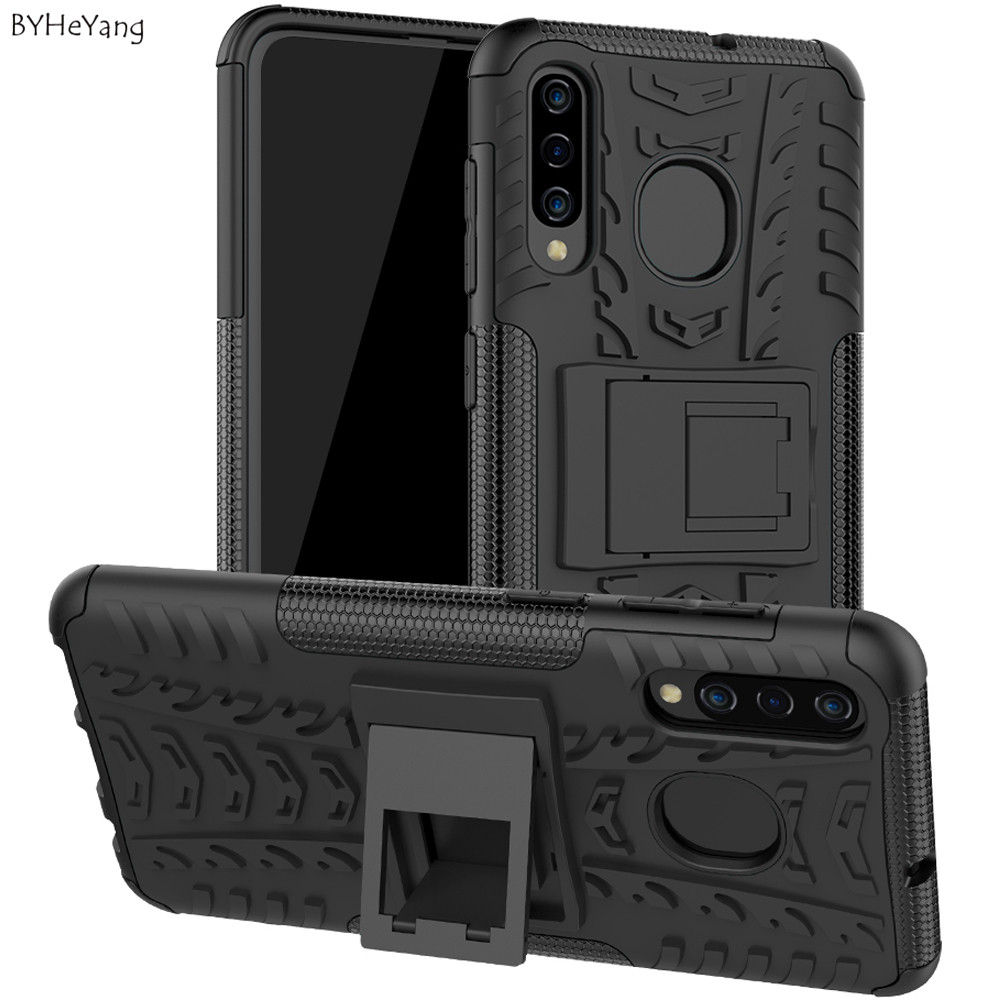 For <font><b>Samsung</b></font> Galaxy <font><b>A50</b></font> Case Shockproof Armor Rubber Hard Phone <font><b>Cover</b></font> Bumper On For Galaxy <font><b>A50</b></font> <font><b>2019</b></font> SM A505FN/DS SM-A505 SM-A505F image