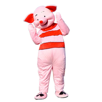 Adult Pig Cartoon Cosplay Costumes Halloween Anime Mascot Costumes Men Animal Cosplay Mascot Costume Cartoon Character Costumes
