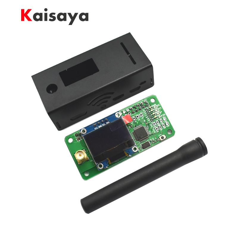 jumbospot MMDVM hotspot Support P25 DMR YSF OLED Antenna black Aluminum Case for raspberry pi A10