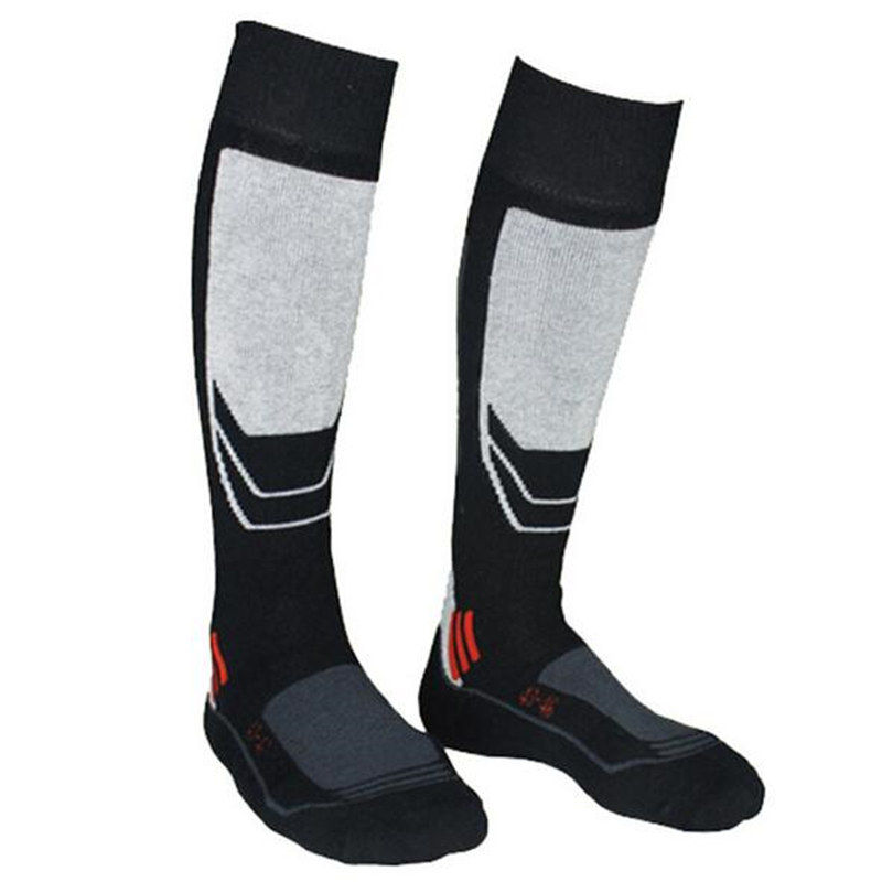 HOT Winter Warm Men Thick Cotton Sports Snowboard Cycling Skiing Soccer Socks Thermal Ski Socks Sports Socks Leg Warmers