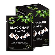 5/1pcs Hair Dye Shampoo Styling Products For Older Man Women White Hair Dyed Black Plant Hair Dye One-time Molding Cream Make up