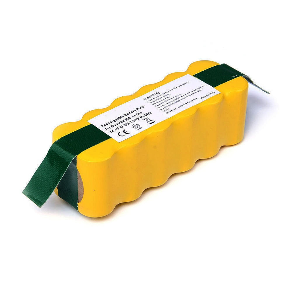 14.4V 3500mAh Ni-MH For <font><b>iRobot</b></font> Roomba FLOUREON Vacuum Cleaner Rechargeable <font><b>Battery</b></font> Pack Replacement for 500 550 560 780 T35