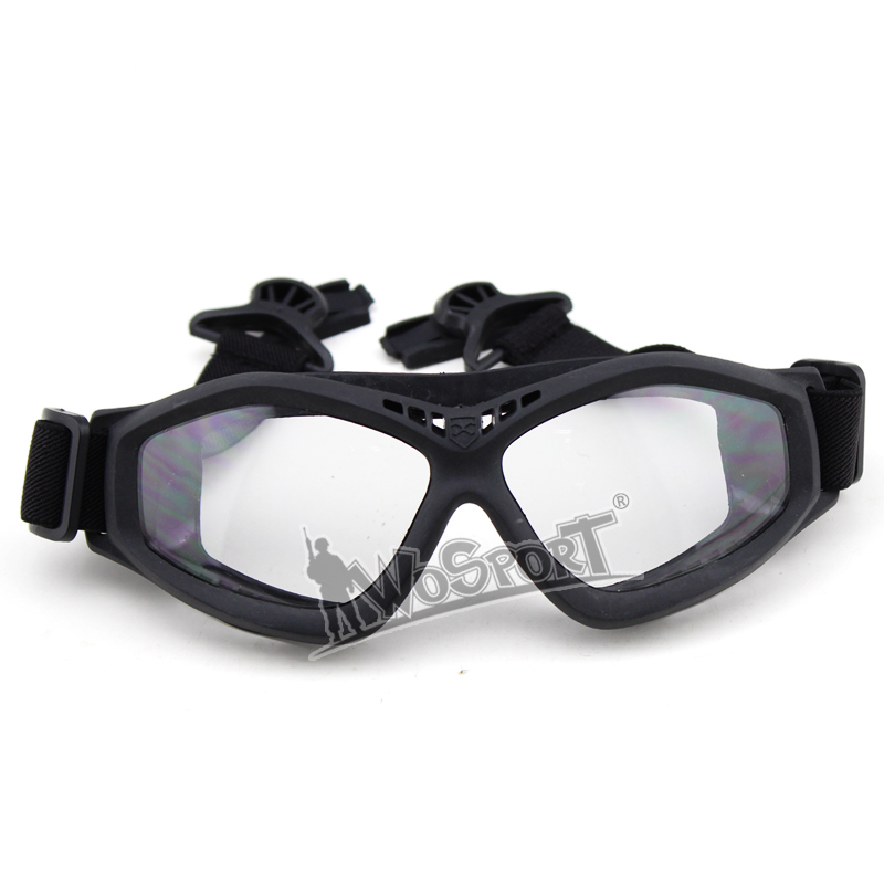 WoSporT Tactical Protect FAST Helmet Glasses for Hunting Shooting Army Cycling Outdoor Military Sunglasses