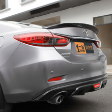 цена на For Mazda 6 Atenza Spoiler 2014 2015 2016 2017 Auto Tail Wing Decoration ABS Plastic Car Rear Trunk Spoiler