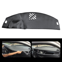 Leather Car Dashboard Cover Non Slip Dash Mat Pad Left Hand Driver For Jaguar XF 2008 2015