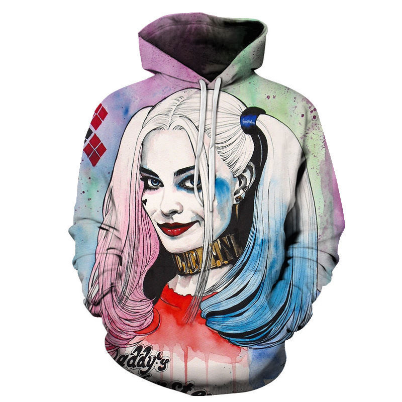 ca76ae91d50e New Arrival Men Women Joker Hoodie Suicide Squad Deadshot All Over Print 3D  Sweatshirt Mens Hoodies Sweatshirt Tracksuits-in Hoodies   Sweatshirts from  ...
