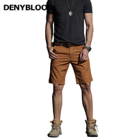 Denyblood Jeans 2019 Spring Summer Mens Bodybuilding Shorts Cotton Shorts Straight Regualar Casual Shorts Mens Clothing CL6
