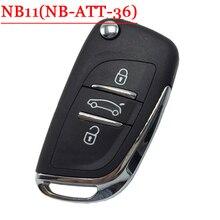 NB11 3 Тревожная Кнопка Ключ Дистанционный Ключ С NB-ATT-36 Модель Для Peugeot/Citroen/ID46 Honda, может Работать С URG200/KD900/KD200 Машины