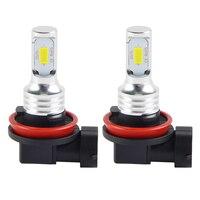 מנורות לרכב Bevinsee 2x נורות LED לרכב H11 DRL CSP צ