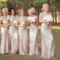 Mãe Dos Vestidos de Noiva 2016 Elegante Lantejoulas Mãe Do Vestido Da Noiva À Noite Vestido de Casamento Da Mãe Da Noiva Vestidos