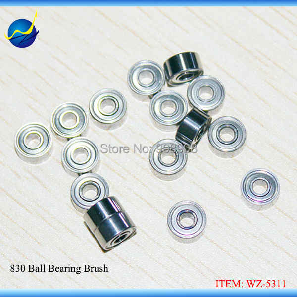 1pc Brush Micromotor Handpiece Drill Spare Part Micro Ball Bearing 830# diameter * inner diameter * height of 8 mm * 3 mm * 4 mm