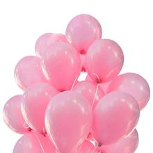 METABLE Pack of 100 12 Inch Thicken Pearlescent Pink Pearl Latex Balloon,Birthday Wedding Party Decoration Supplies,
