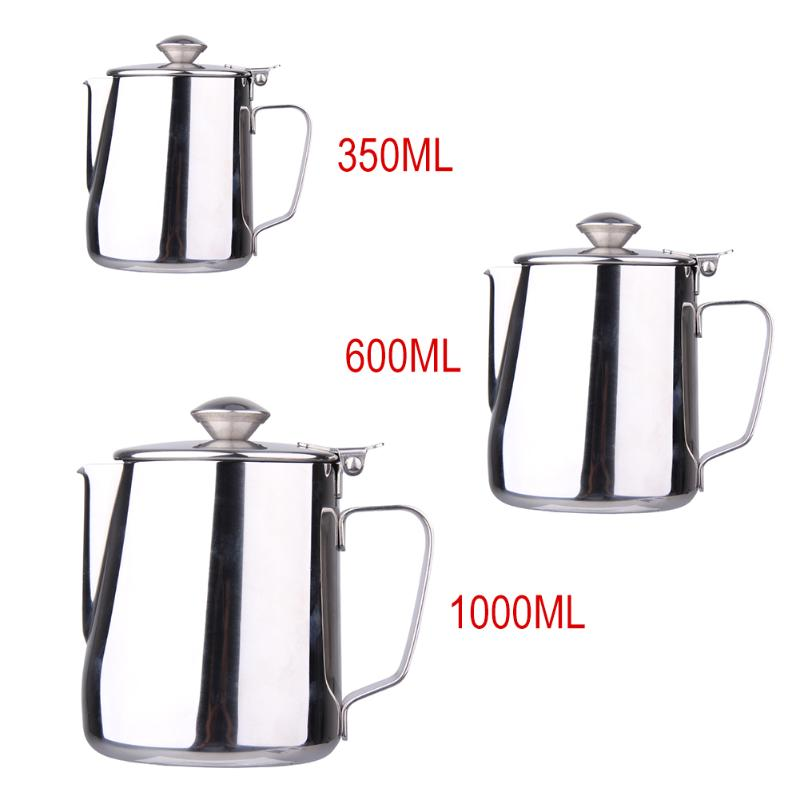 Stainless Steel Kitchen Home Craft Coffee Jug Espresso Coffee Pitcher Latte Milk Frothing Jug Coffee/Tea/Milk Tools